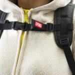 バッグの困った!リュックベルトのずり落ちを防ぐ。チェストベルトがおすすめ!